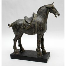 Bronze Short Tail Tang Horse Statue