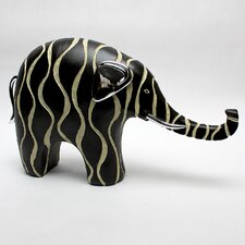 Contemporary Elephant Resin Statue