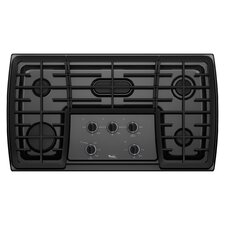 "36"" 17,000 BTU Flex Power Burner Gas Cooktop"