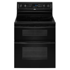 "30"" Self-Cleaning Double Oven Freestanding Electric Range"