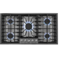 "36"" Recessed Grate Design Gas Cooktop"