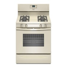 5.0 cu. ft. Accubake Temperature Management System Gas Range