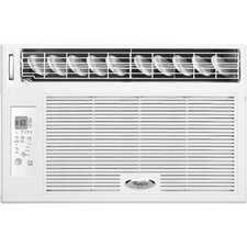 <strong>Whirlpool</strong> 8,000 BTU Energy Efficient Window-Mounted Air Conditioner with Remote Control