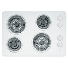 "30"" Two Power Cook Elements Electric Cooktop"
