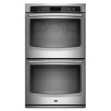 "30"" 8 Minute Power Preheat Electric Double Wall Oven"