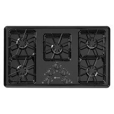 "36"" Two Power Cook Burners Gas Cooktop"