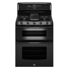 Gemini EvenAir True Convection Gas Double Oven Range