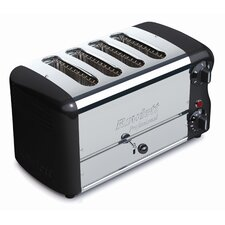 Esprit 4 Slice Wide Bread Toaster with Bun Mode Slot