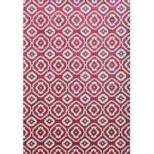 Sonoma Verona Red/White Area Rug