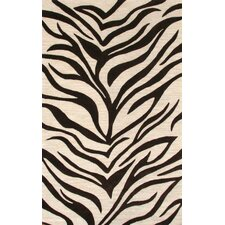 Lifestyle Zenda Ivory/Chocolate Area Rug