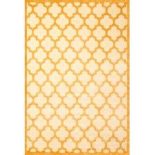 Sonoma Tangerine/Ivory Trellis Rug