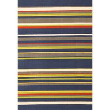 <strong>Abacasa</strong> Jax Navy Stripes Rug