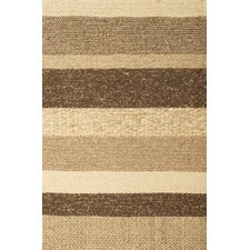 Atlas Brown/Tan Stripe Area Rug