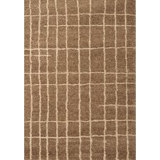 <strong>Abacasa</strong> Granada Medium Brown Plaza Rug