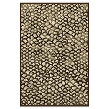 Abacasa Sonoma Corliss Chocolate Area Rug