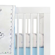 Alphabets Fitted Crib Sheet