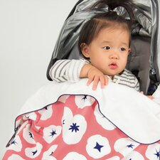 In Bloom Stroller Blanket