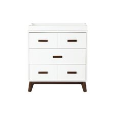 Scoot 3 Drawer Changer Dresser