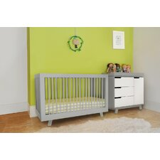 Hudson 3-In-1 Convertible Crib With Toddler Rail