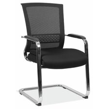Henning Series Mesh Sled Base Guest Chair