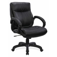 <strong>OfficeSource</strong> Mid-Back Executive Chair with Arms