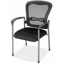 <strong>OfficeSource</strong> Spice Mesh Back Guest Chair with Arms