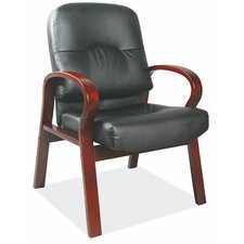 <strong>OfficeSource</strong> Vital Leather Guest Chair