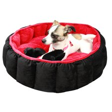 <strong>Best Friends By Sheri</strong> Cuddler Velvet Royal Nest Dog Bed