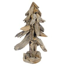 <strong>Foreign Affairs Home Decor</strong> Teak Christmas Tree
