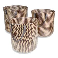 Raga Round Basket (Set of 3)