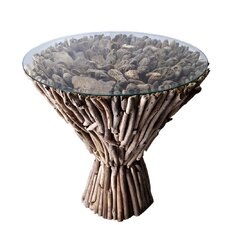 Cone End Table
