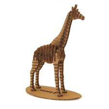 3D Giraffe Animal Puzzle