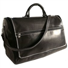 "Taormina 21"" Leather Travel Duffel"
