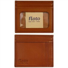 <strong>Floto Imports</strong> Firenze Leather Card Case
