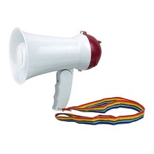 Megaphone Bullhorn with Siren