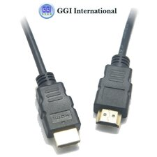 "<strong>GGI International</strong> 1.4"" HDMI Cable Male with Ethernet"