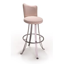 "<strong>Createch</strong> Buzz 30"" Swivel Bar Stool with Cushion"