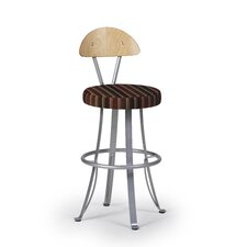 "<strong>Createch</strong> Felix 30"" Swivel Bar Stool with Cushion"