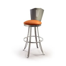"Stardus 24"" Swivel Bar Stool with Cushion"
