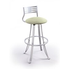 "Baci 24"" Swivel Bar Stool with Cushion"