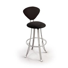 "<strong>Createch</strong> Jazz 24"" Swivel Bar Stool with Cushion"