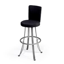 "Mod 24"" Swivel Bar Stool with Cushion"