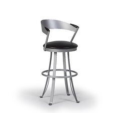 "Kro 30"" Swivel Bar Stool with Cushion"