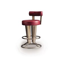 "Saturne 30"" Barstool with Backrest"