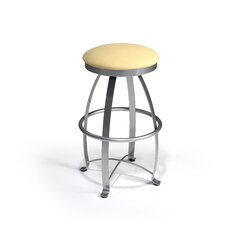 "<strong>Createch</strong> Siba 30"" Swivel Bar Stool with Cushion"