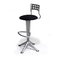 "Novo 24"" Swivel Bar Stool with Cushion"