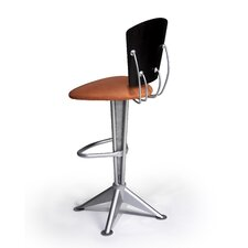 "Kat 24"" Swivel Bar Stool with Cushion"
