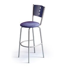"Earl 24"" Swivel Bar Stool with Cushion"