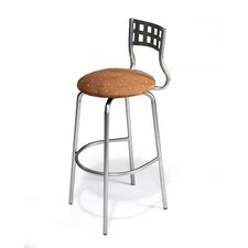 "Nok 24"" Swivel Bar Stool with Cushion"