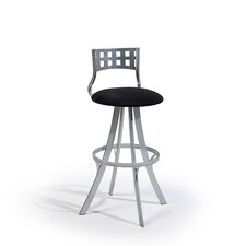 "<strong>Createch</strong> Leo 24"" Swivel Bar Stool with Cushion"